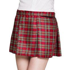 Schotse Rok Vrouw Rood