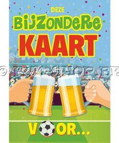 Lier - wenskaart - kaartje - kaartje sturen - cards - feliciteren - zomaar - gefeliciteerd - proficiat - voetbal - supporter