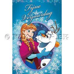 Frozen Verjaardagskaart