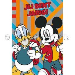 Mickey Mouse Verjaardagskaart