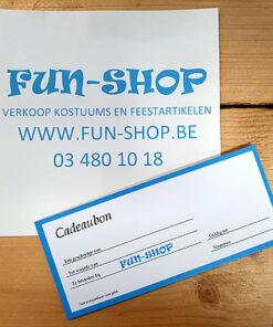 Cadeaubon 1: Waarde 10€