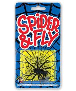 Lier - grappig - grapje uithalen - halloween - spider & fly - ongedierte - fop artikelen - beest in eten - vlieg - spinnen