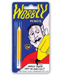 Lier - Fun-Shop - fop artikelen - grappig - grapje uithalen - foppen - voor de gek houden - fop potlood - wiebel potlood
