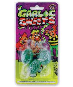 Lier - fop snoep - grappig - grapje uithalen - vieze snoepjes - halloween - nep snoep - garlic - looksmaak - carnaval