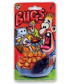 Lier - grappig - grapje uithalen - halloween - cockaroach - ongedierte - fop artikelen - bugs - kakkerlak in eten