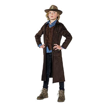 Halloween kostuum - Lier - verkleedkledij kinderen - griezel - tv serie - superheld - studio 100 - tv figuur - jager - sheriff