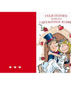 Lier - trouwen - huwelijk - huwelijksverjaardag - jubileum - bruiloft - zilveren - gouden - wenskaart - kaartje huwelijk