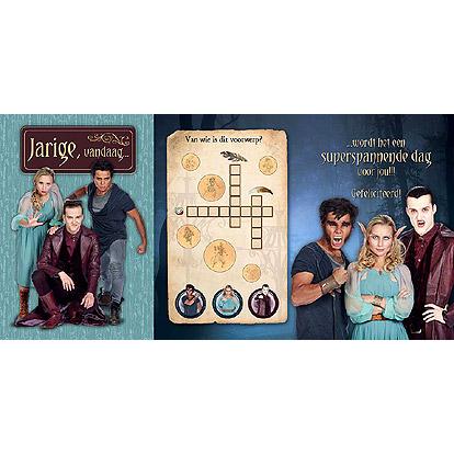 Lier - wenskaart - kaartje - kaartje sturen - cards - studio 100 - Keelin - Wilko - Vladimir - Cooper - jarig - invulpuzzel