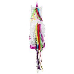Lier - pinjata - mexico - geluksbrenger - papier maché - gevuld met snoep - cadeau - verjaardag - feest - unicorn