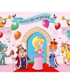 Lier - wenskaart - kaartje - kaartje sturen - cards - verjaardagskaart - muziekkaart - licht - prinsessen - toverstaf - kasteel