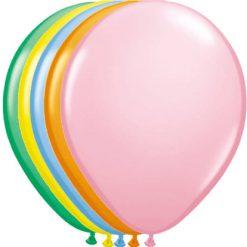 Ballonnen Color Mix Mettalic - 10 stuks