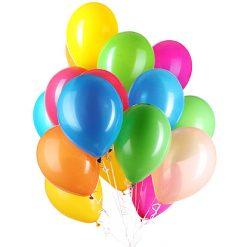 Ballonnen Color Mix incl Ballonlint - 30 stuks