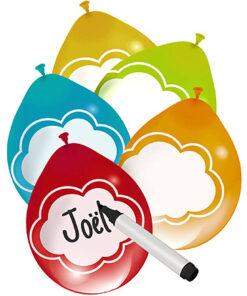 Ballonnen - Lier - feestversiering - Fun-Shop - beschrijfbare ballon - proficiat - helium - verjaardag - naam op ballon