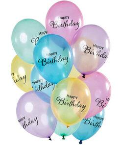 Ballonnen - Lier - feestversiering - Fun-Shop - helium - latex ballon - verjaardag - jarig - doorschijnende ballonnen