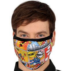 Mondmasker Pop Art