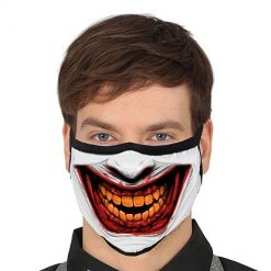Mondmasker Scary Smile