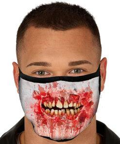 Lier - Carnaval - Halloween - mondmasker - eng masker - herbruikbaar - print - bescherming - mondkapje