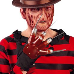 Halloween - Lier - filmfiguur - bekend figuur - freddy krueger verkleedkostuum - messenhand - scary movie
