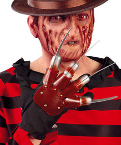 Halloween - Lier - filmfiguur - bekend figuur - freddy krueger verkleedkostuum - messenhand - scary movie
