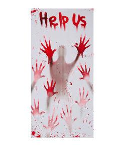 Halloween Decoratie - Lier - wanddecoratie - tafeldecoratie - affiche - zombie - skeletten - bloed - hangende decoratie
