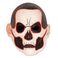 Lier - Carnaval - Halloween - gezichtsmasker - lichtgevend masker - LED verlichting - ghost - zombie