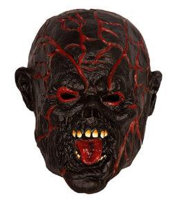 Lier - Carnaval - Halloween - gezichtsmasker - lichtgevend masker - LED verlichting - hersenen - bloed - eng gezicht