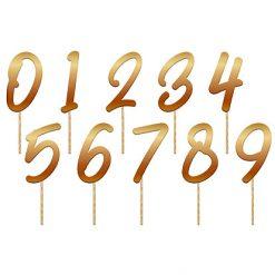 Lier - Verjaardag - Jarig - feest - goud - taarttopper - caketopper - feestversiering - decoratie - leeftijd