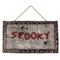 Moving Spooky Board Licht & Geluid