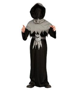 Halloween kostuum - Lier - verkleedkostuums - verkleedkledij kinderen - griezelen - demonen - onherkenbaar - schedel