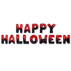 Folieballon Letters 'Happy Halloween'