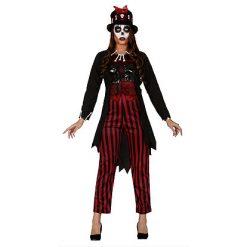 Halloween kostuum - Lier - verkleedkostuum - verkleedkledij volwassenen - griezelen - voodoo - schedel - skull