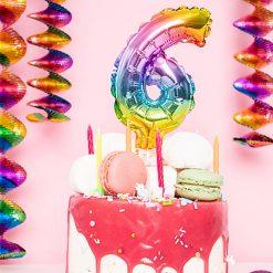 Ballonnen - Lier - feestversiering - decoratie - cijfers - jarig - verjaardag - happy birthday - taarttopper - caketopper