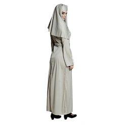 Halloween kostuum - Lier - verkleedkostuums - verkleedkledij volwassenen - griezelen - geest - non - kerk - gelovige