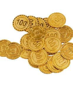 Lier - Carnaval - speelgoedgeld - piraat - themafeest - centen - geld - muntjes - western - gouden munt