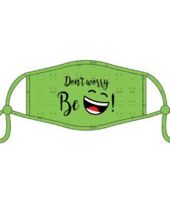 Lier - Carnaval - grappig mondmasker - mondkapje - herbruikbaar - bescherming - tieners - kinderen - origineel mondmasker