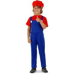 Carnaval kostuum kind - Lier - beroep - verkleedkledij kinderen - Super Mario - Nintendo - Luigi - game - gaming - superheld