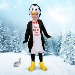 Carnaval kostuum kind - Lier - dieren - verkleedkledij kinderen - antartica - zuidpool - noordpool - happy feet - cool