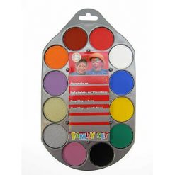 Lier - Carnaval - Halloween - grimeren - schminken - verf - maquillage - waterverf - verschillende kleuren - kind schminken