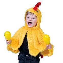 Carnaval kostuum kind - Lier - verkleedkledij kinderen - dieren - cape - peuter - kleuter - baby - poncho - chicken - boerderij