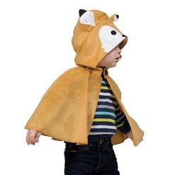 Carnaval kostuum kind - Lier - verkleedkledij kinderen - dieren - cape - peuter - kleuter - baby - poncho - wolf - roodkapje