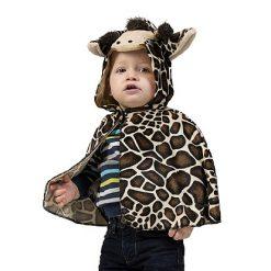 Carnaval kostuum kind - Lier - verkleedkledij kinderen - dieren - cape - peuter - kleuter - baby - poncho - zoo dier