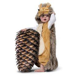 Carnaval kostuum kind - Lier - verkleedkledij kinderen - dieren - cape - peuter - kleuter - baby - poncho - bosdieren