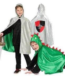 Carnaval kostuum kind - Lier - verkleedkledij kinderen - dieren - cape - peuter - kleuter - dinosaurus - draken - ridders