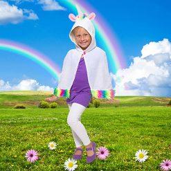 Carnaval kostuum kind - Lier - verkleedkledij kinderen - unicorn - kleurrijk - baby verkleedpak - peuter - jasje