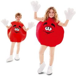 Carnaval kostuum kind - Lier - verkleedkledij kinderen - m&m - snoep - grappig carnaval kostuum - funny - candy