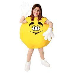 Carnaval kostuum kind - Lier - verkleedkledij kinderen - m&m - snoep - grappig carnaval kostuum - funny - candy - jump in pak