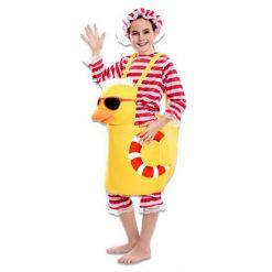 Carnaval kostuum kind - Lier - verkleedkledij kinderen - funny - eend - duck - badkostuum - eendjes - tiener
