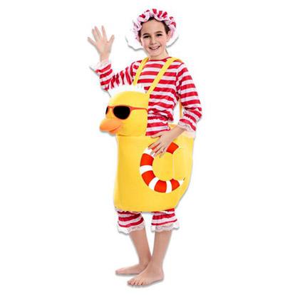 Carnaval kostuum kind - Lier - verkleedkledij kinderen - funny - eend - duck - badkostuum - eendjes - tiener - jump in pak