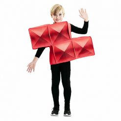 Carnaval kostuum kind - Lier - verkleedkledij kinderen - funny - blokken - Tetris - Nintendo - vierkantjes - puzzel - jump in pak