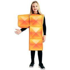 Carnaval kostuum kind - Lier - verkleedkledij kinderen - funny - blokken - Tetris - Nintendo - vierkantjes - puzzel